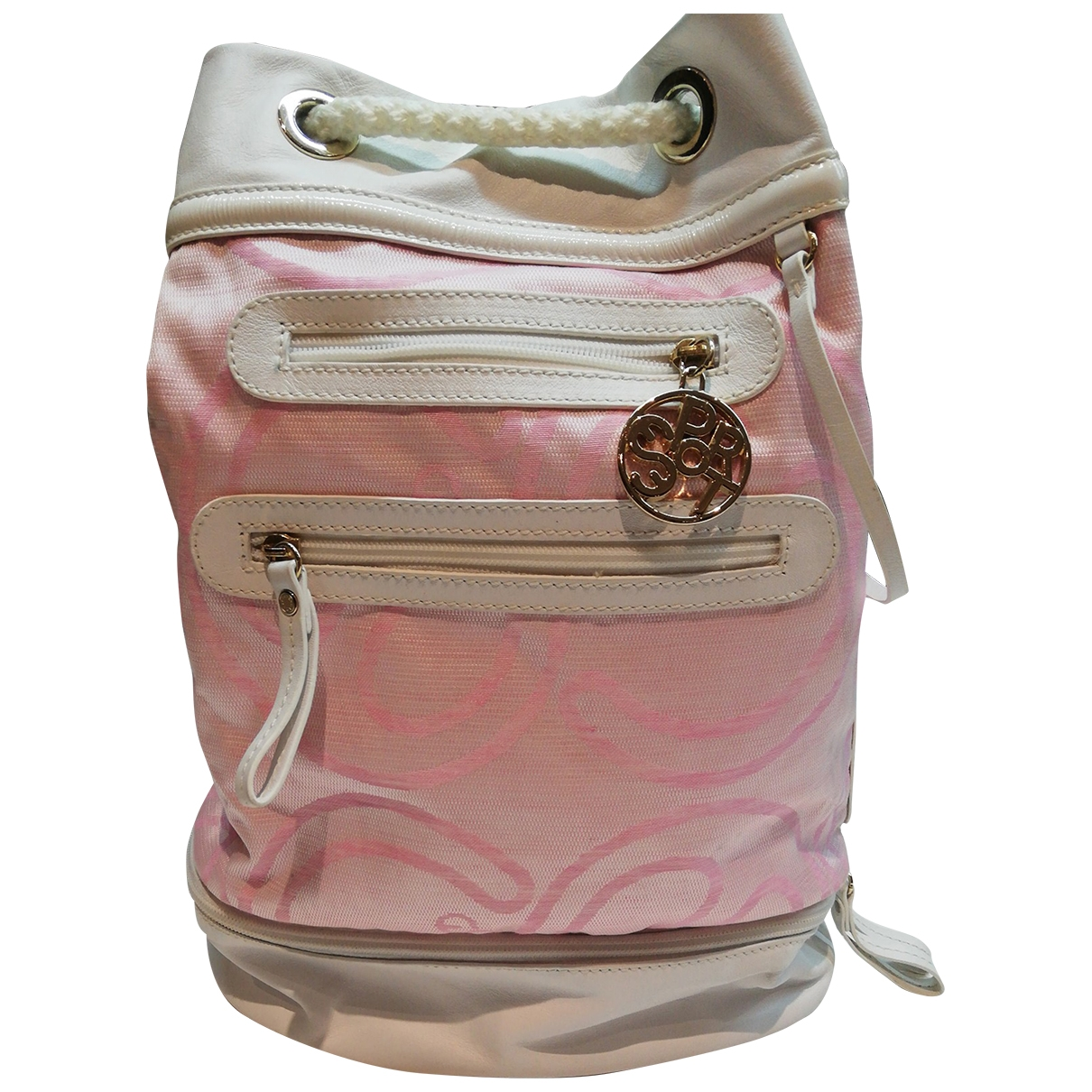 Escada \N Pink Cotton backpack for Women \N