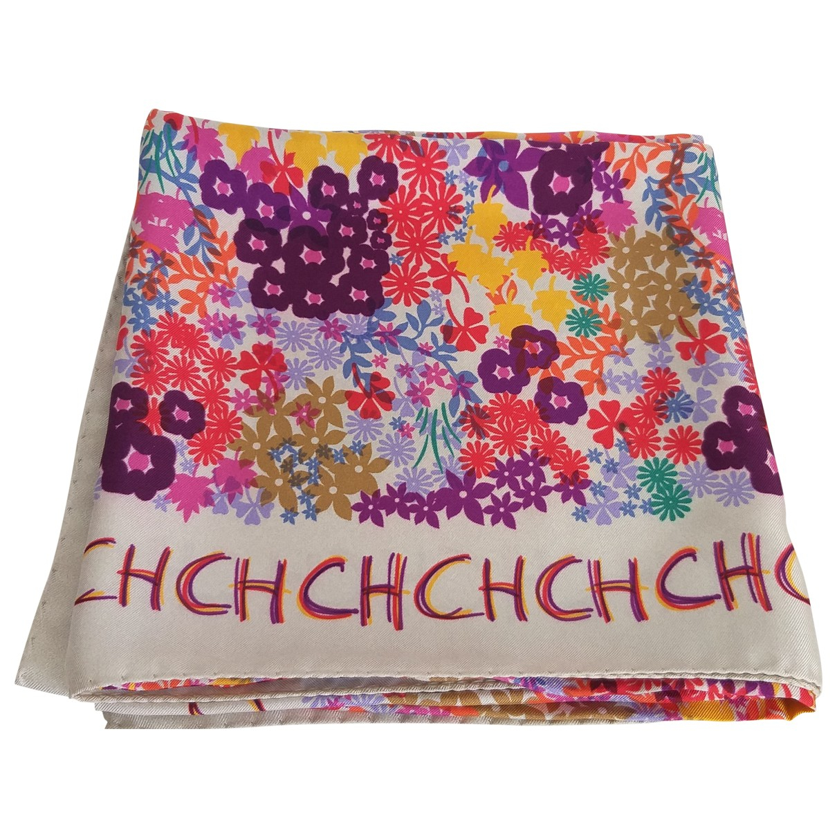 Carolina Herrera \N Multicolour Silk scarf for Women \N