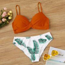 Tropical Twist Underwire Bikini Swimsuit