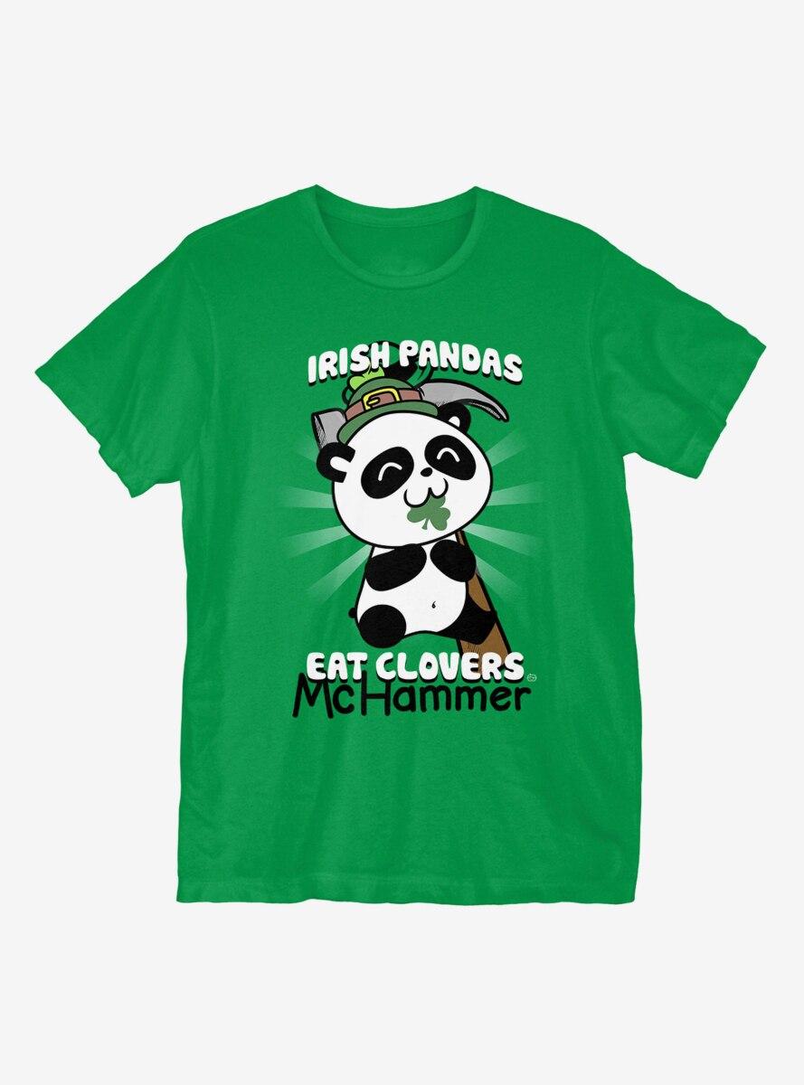 St. Patrick's Day Irish Pandas T-Shirt