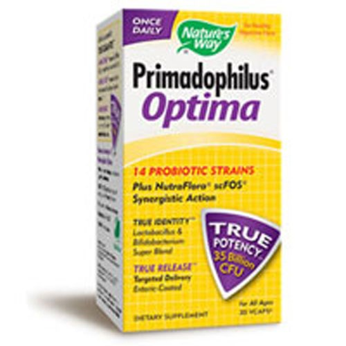 Primadophilus Optima, 60 Vcap by Nature's Way