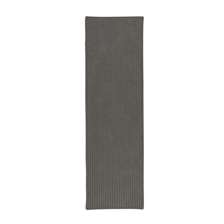 Colonial Mills Deck Porch And Patio Braided Rectangular Reversible Runner, One Size , Gray