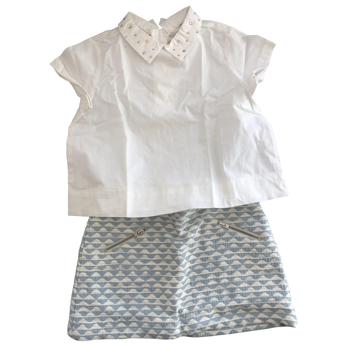 Bonpoint \N Blue Cotton Outfits for Kids 4 years - up to 102cm FR