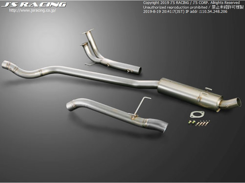 Js Racing C304 70RR Plus SUS Exhaust Honda Civic EP3 01-05