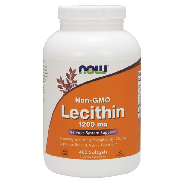 Lecithin 400 Sgels by Now Foods