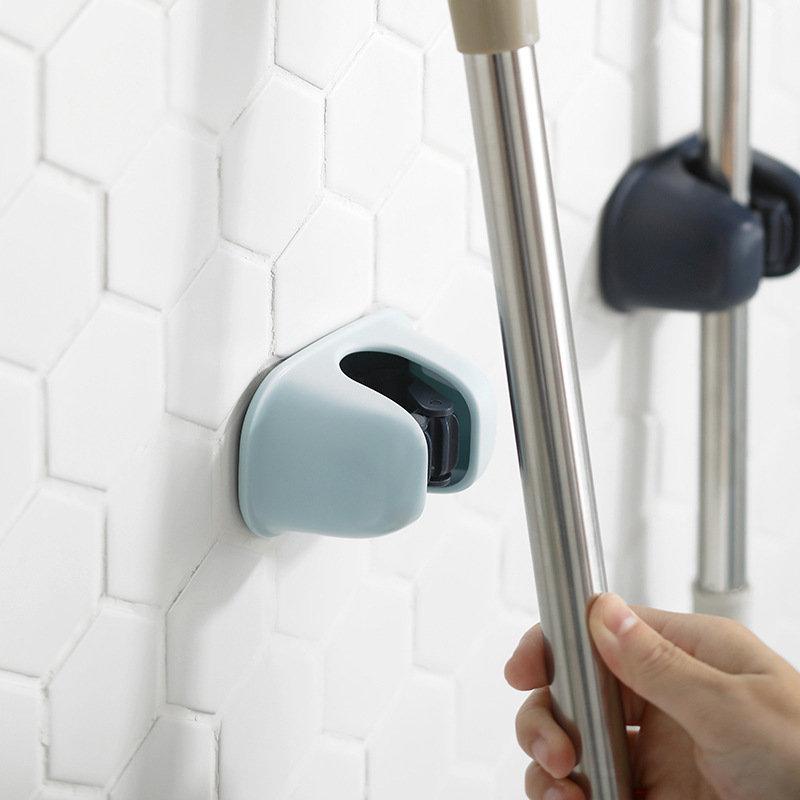 Seamless Mop Rack Free Punching Mop Clip Mop Hook