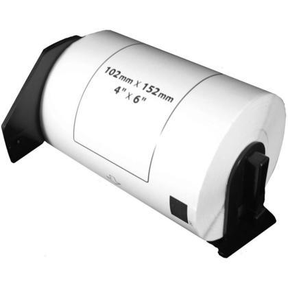 Compatible Brother DK1241 Grandes etiquettes d'exp edition d ecoup ees, 200 etiquettes, - 1/paquet