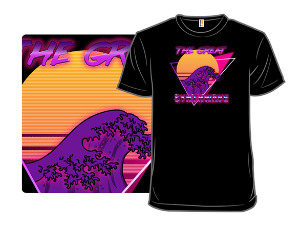 The Great Synthwave T Shirt