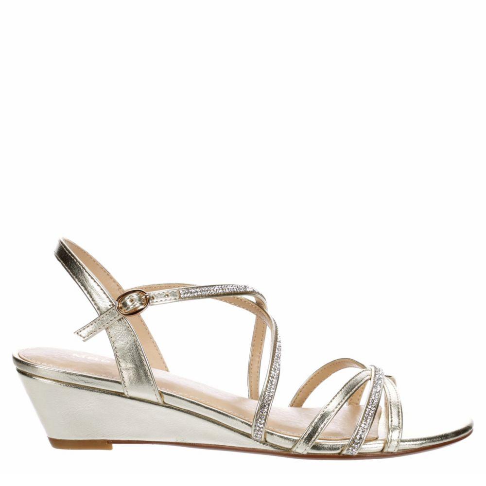 Maripe Womens Jane Dress Wedge Sandal