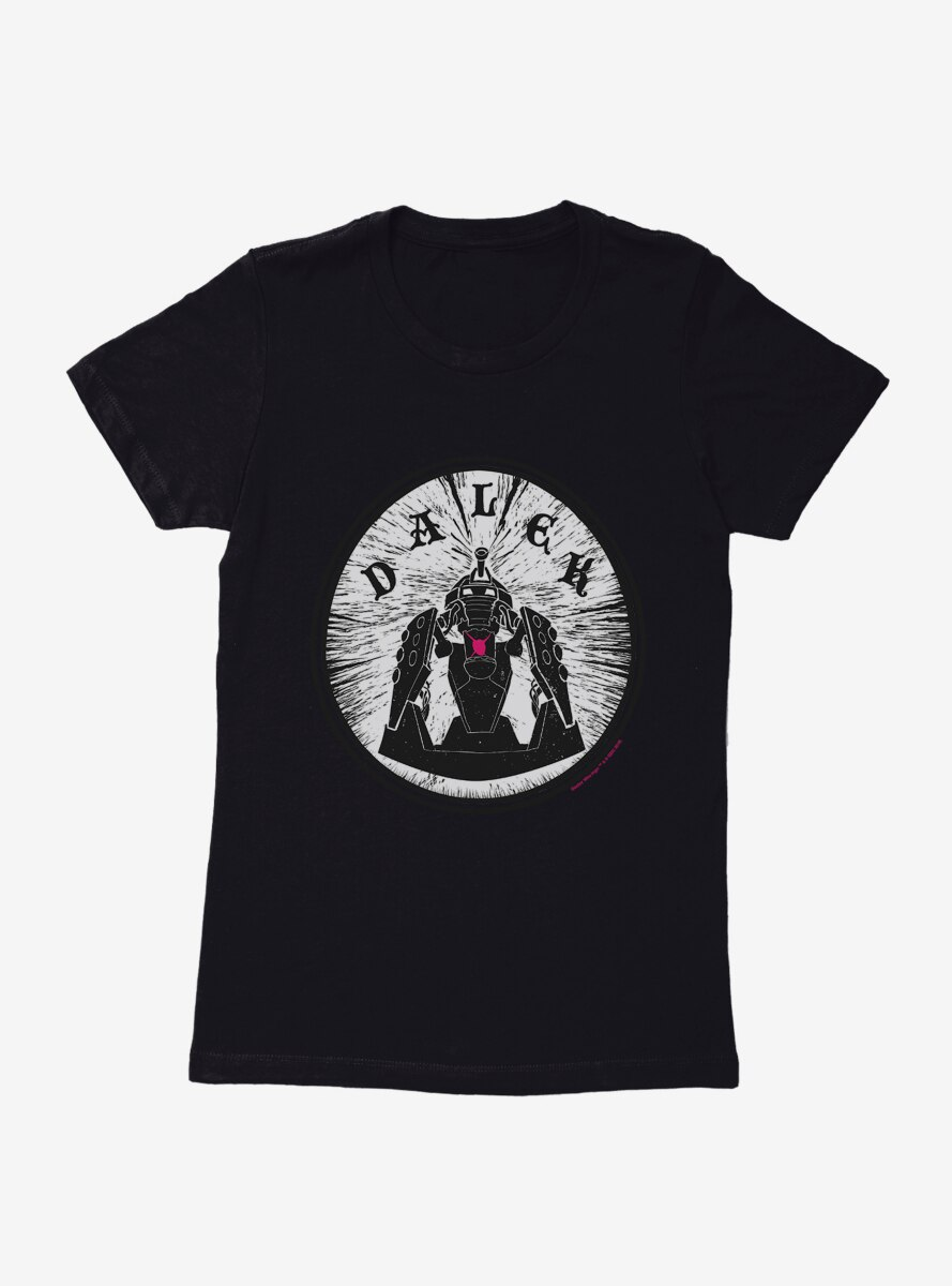 Doctor Who Dalek Emblem Womens T-Shirt