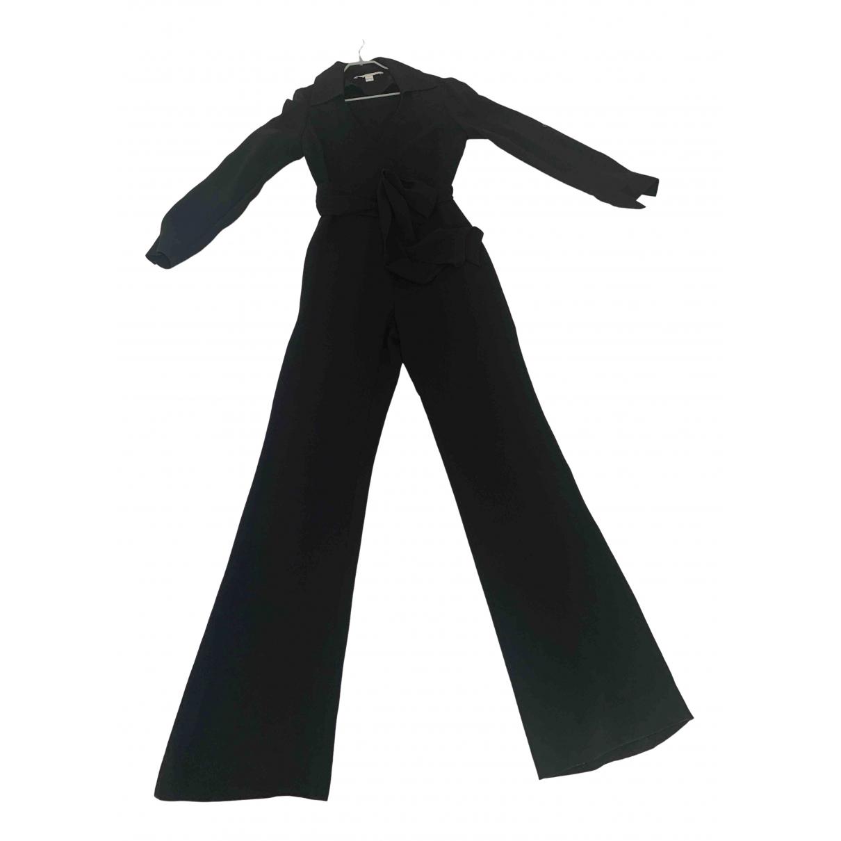 Diane Von Furstenberg \N Black jumpsuit for Women 4 0-5