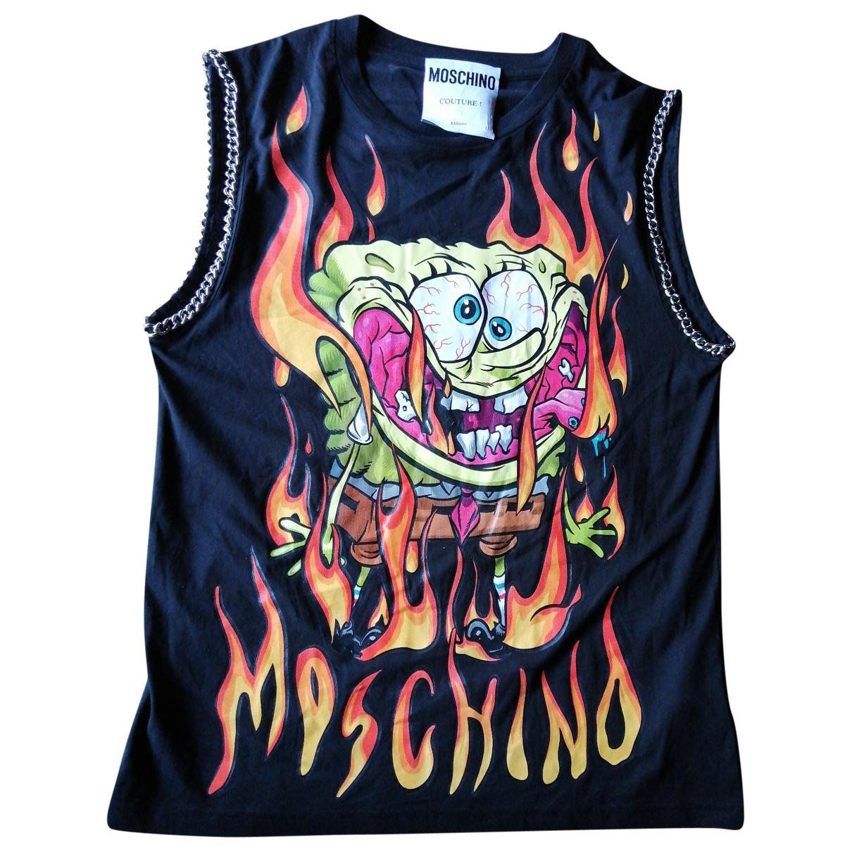 Moschino \N Black Cotton T-shirts for Men M International