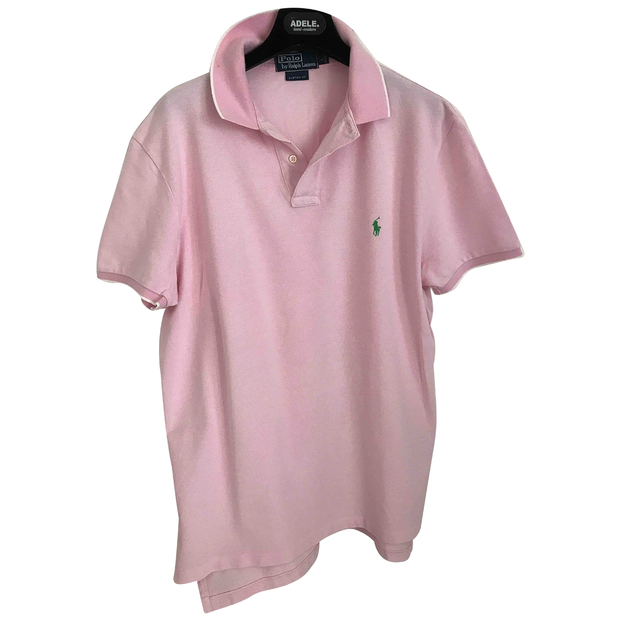Polo Ralph Lauren \N Pink Cotton Polo shirts for Men L International