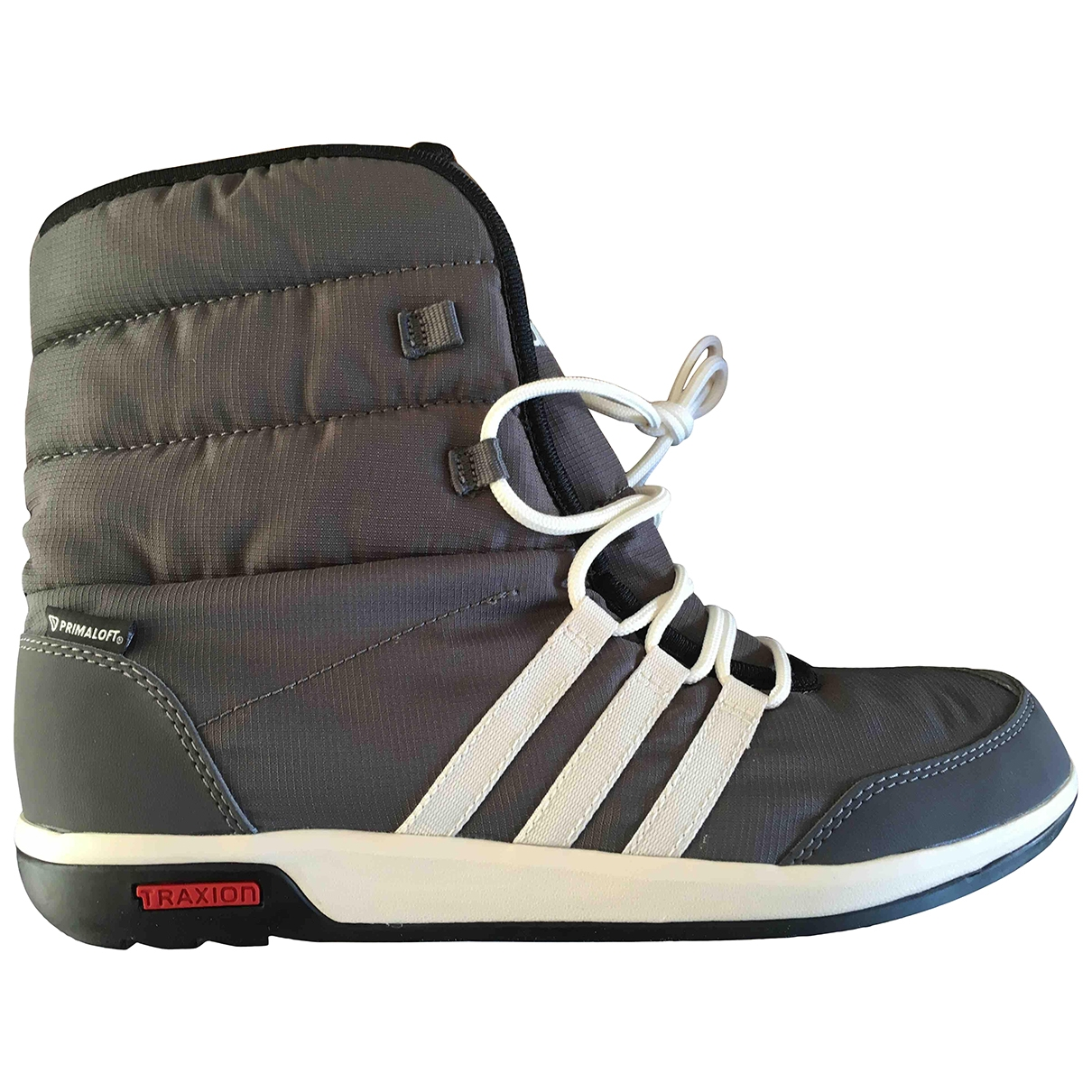 Adidas \N Grey Cloth Ankle boots for Women 8 UK