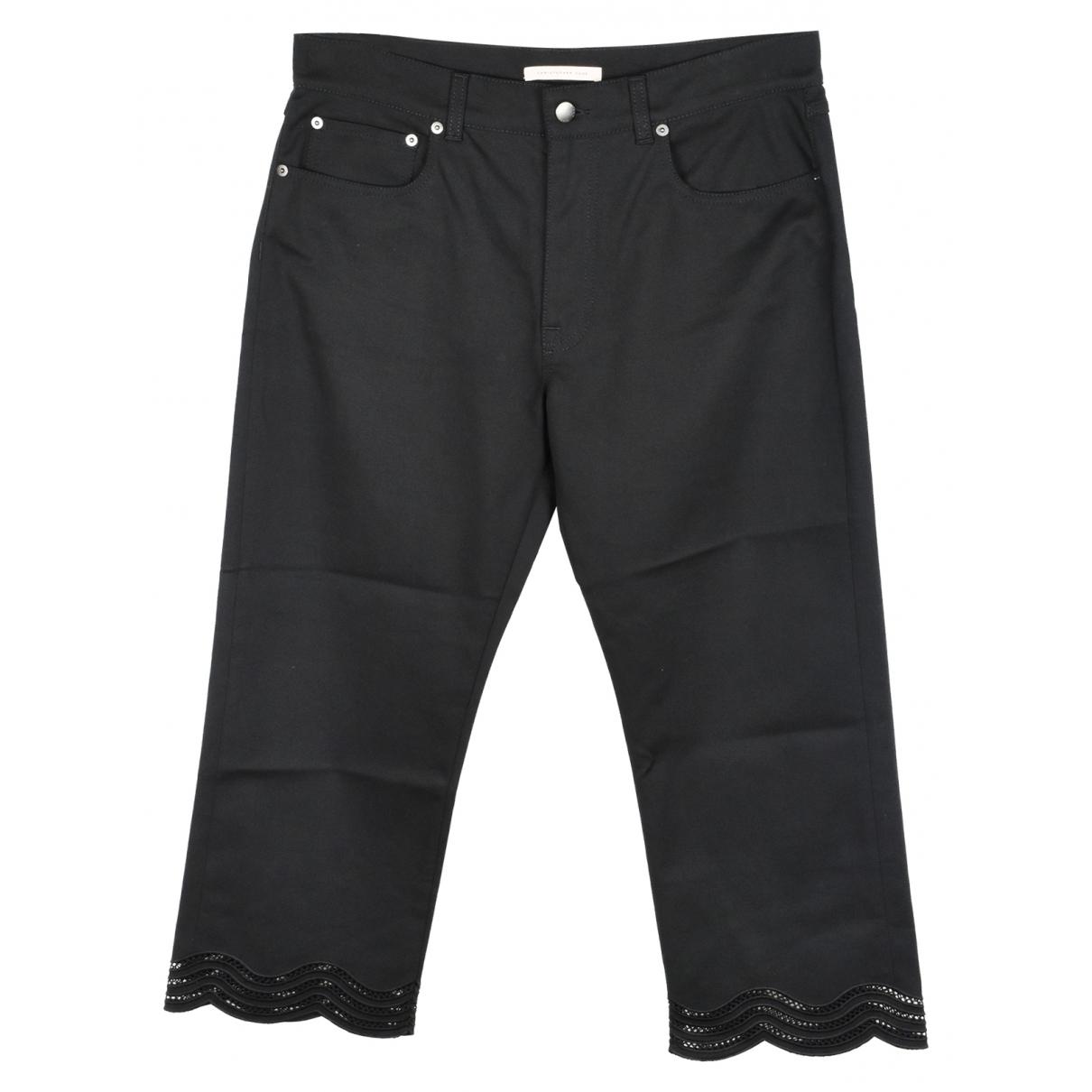 Christopher Kane \N Black Cotton Jeans for Women 29 US