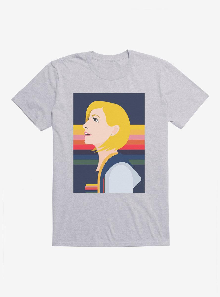 Doctor Who Thirteenth Doctor Illustration Hopeful T-Shirt
