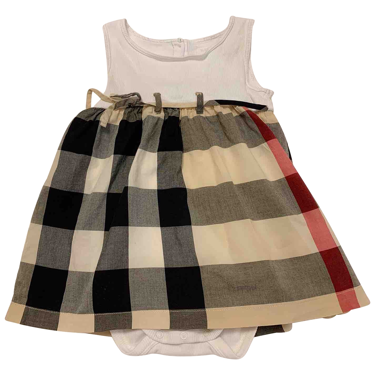 Burberry \N Multicolour Cotton - elasthane dress for Kids 12 months - until 29 inches UK