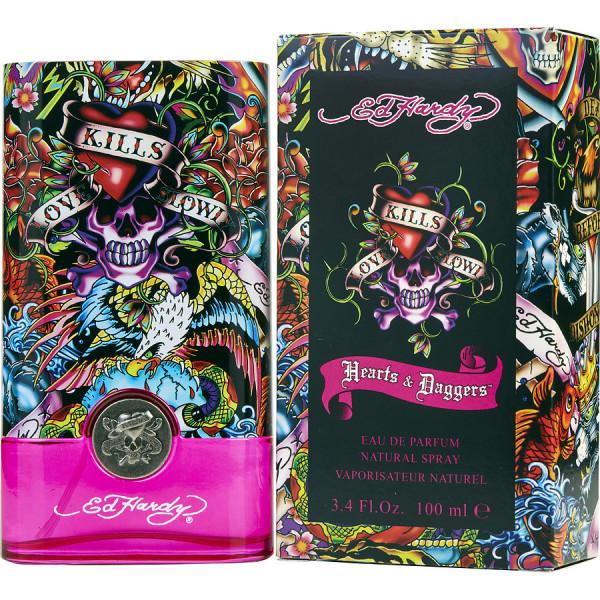 Christian Audigier - Hearts & Daggers : Eau de Parfum Spray 3.4 Oz / 100 ml