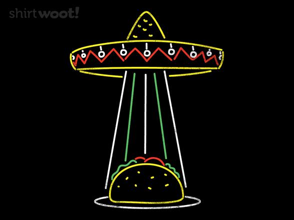 Flying Taco T Shirt
