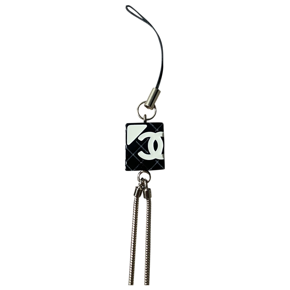 Chanel CHANEL Silver Horn Phone charms for Women \N