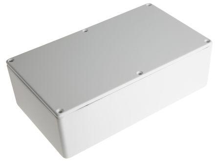 CAMDENBOSS 5000, White Die Cast Aluminium Enclosure, IP54, Shielded, 192 x 112 x 61mm