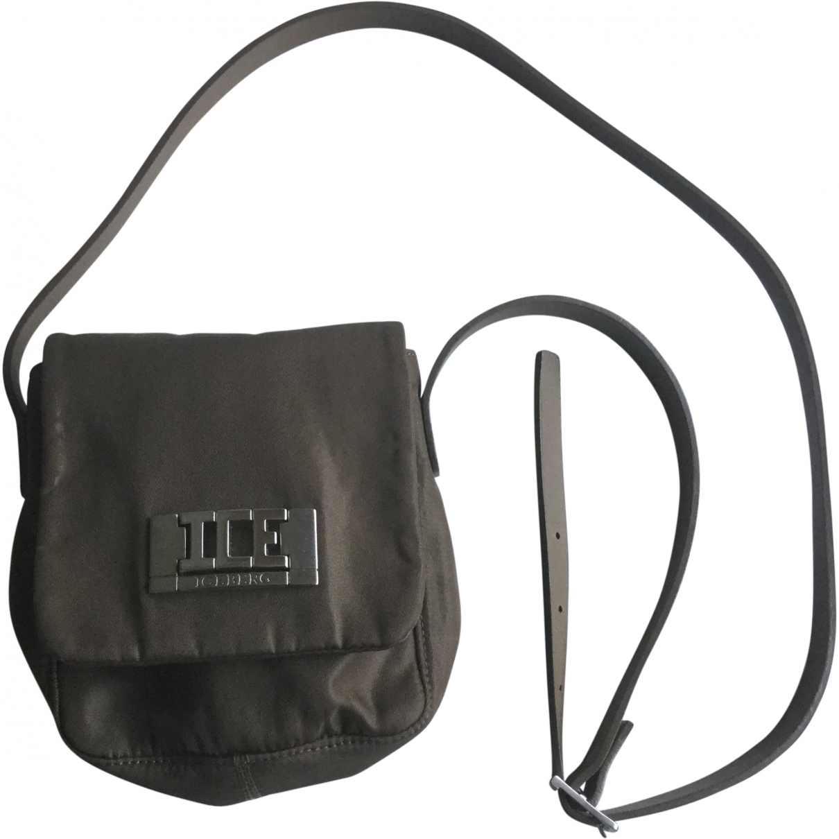 Iceberg \N Green Cloth handbag for Women \N