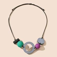 Round Decor Necklace
