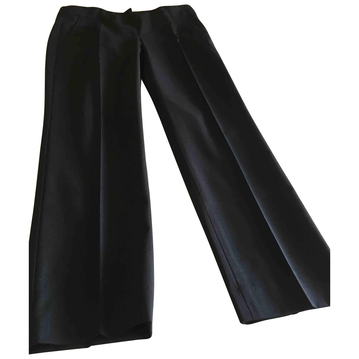 Theory \N Blue Wool Trousers for Women 4 US