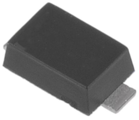 ON Semiconductor , 1.8V Zener Diode 500 mW SMT 2-Pin SOD-123 (100)