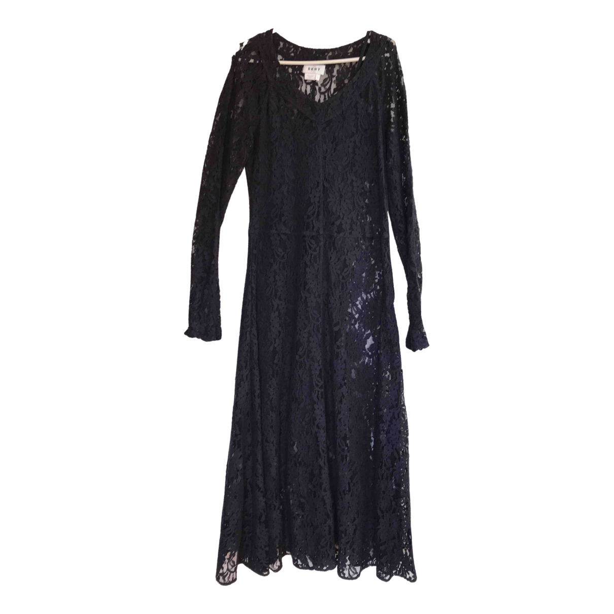 Dkny \N Blue Lace dress for Women 4 US