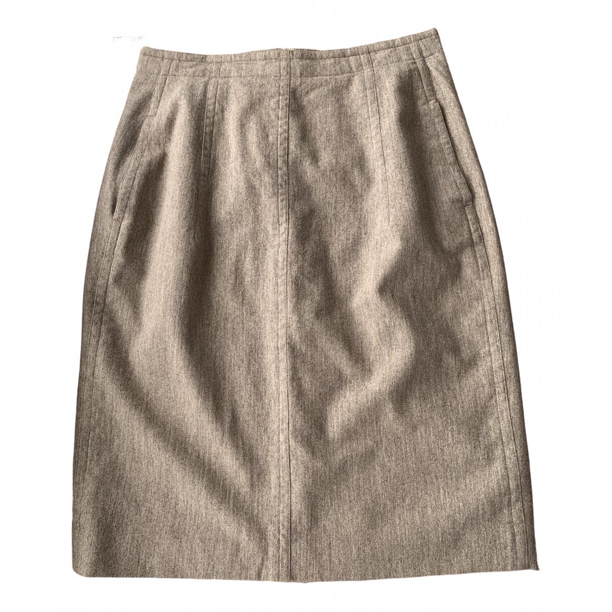 Jil Sander \N Brown Wool skirt for Women M International