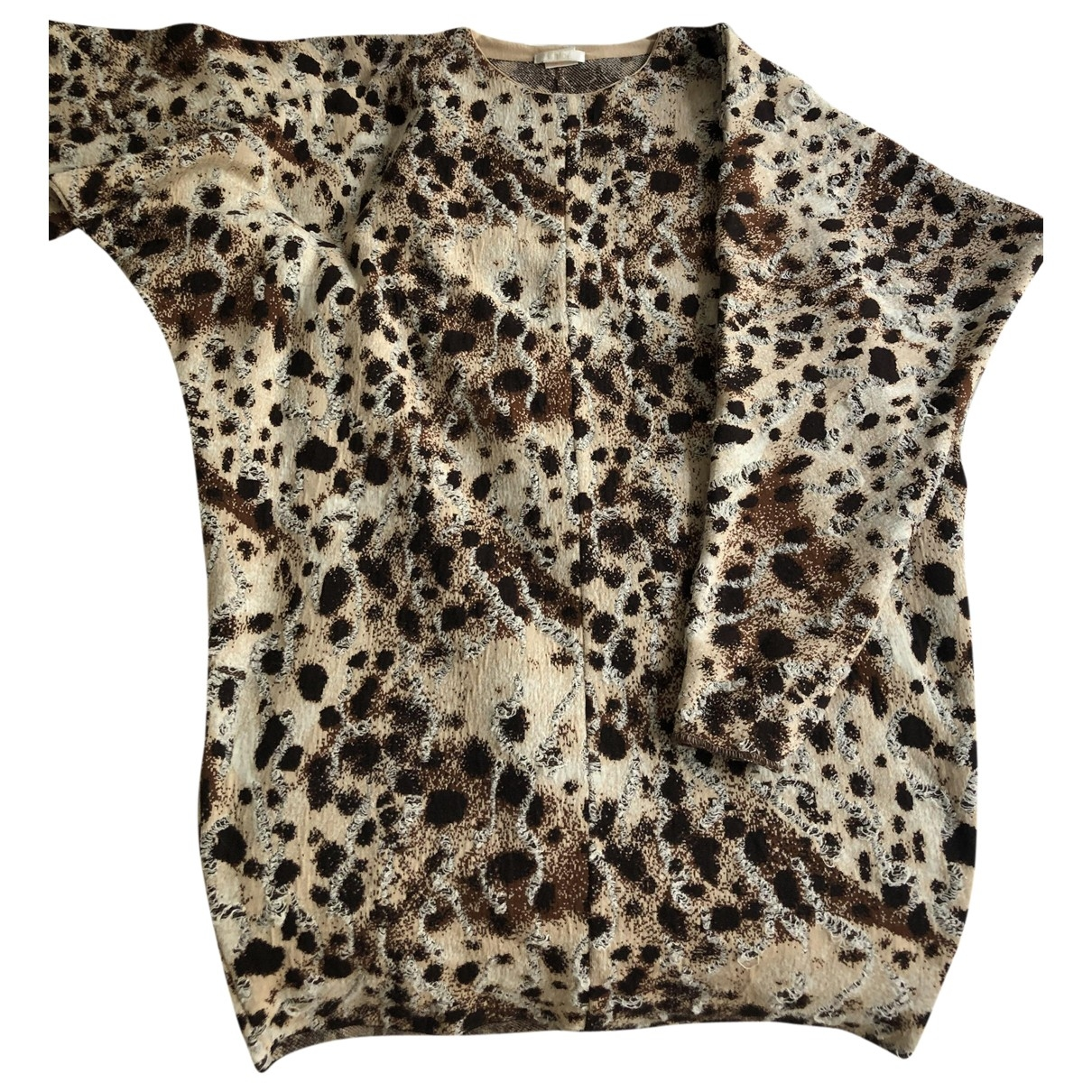 Chlo?? \N Beige Cotton Knitwear for Women 38 FR
