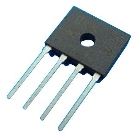 HY Electronic Corp D3KB10, Bridge Rectifier, 3A 1000V, 4-Pin D3K (30)