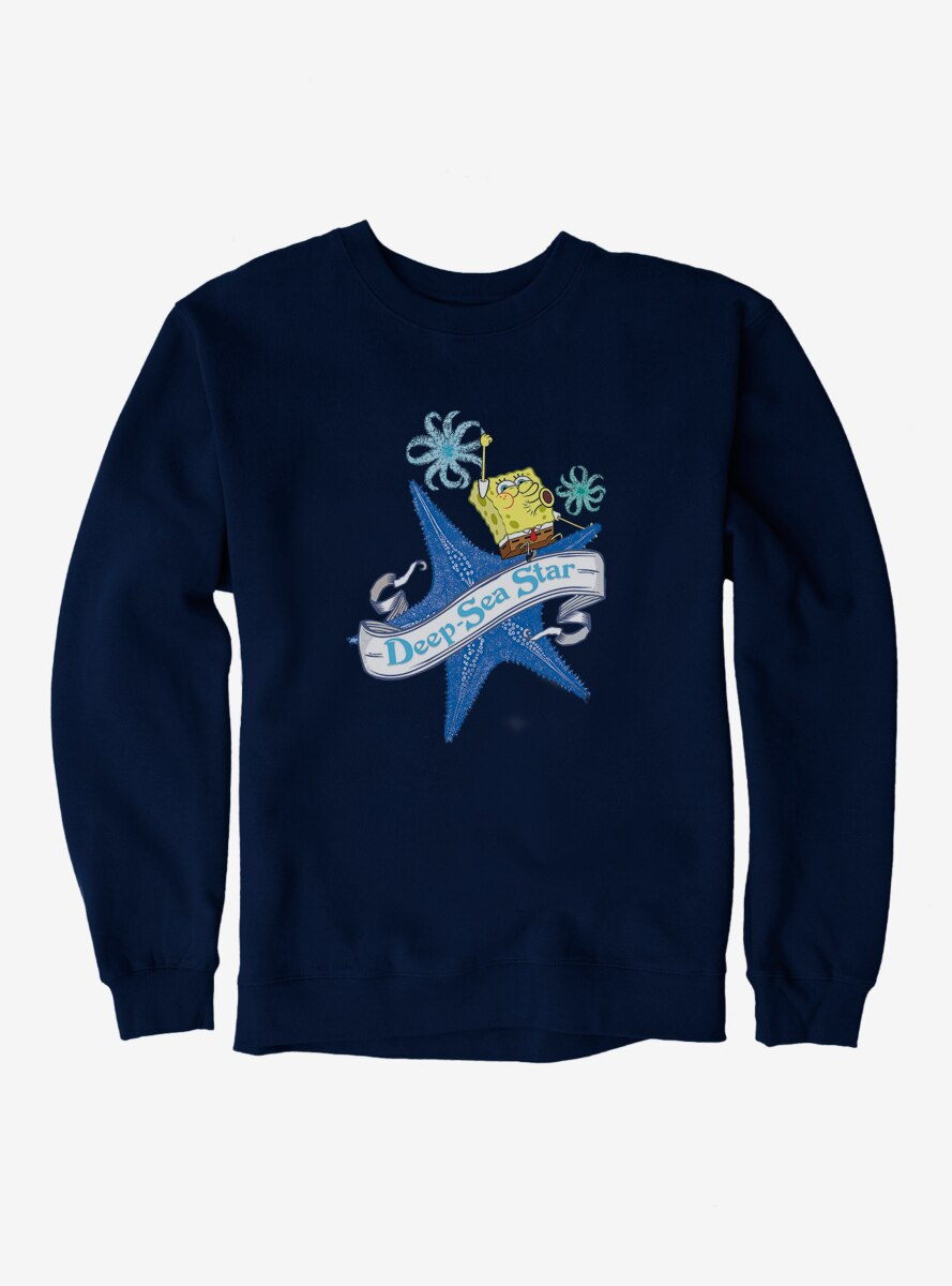 SpongeBob SquarePants Starfish Deep Sea Star Sweatshirt