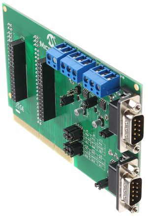 Microchip , PICtail Plus CAN Bus, LIN Bus Daughter Board - AC164130-2