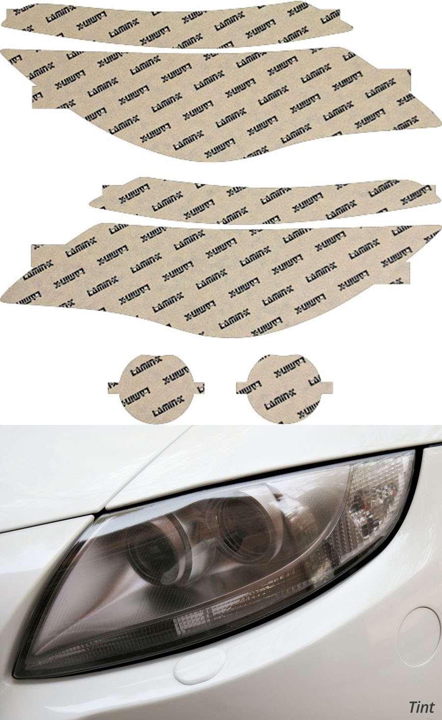 BMW 6-Series 04-07 Tint Headlight Covers Lamin-X B016T