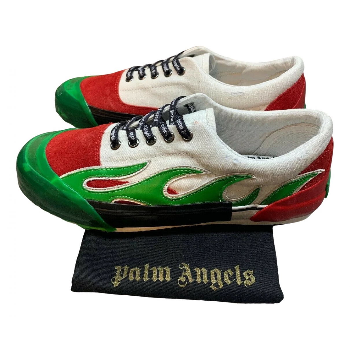 Palm Angels \N Multicolour Leather Trainers for Men 40 EU