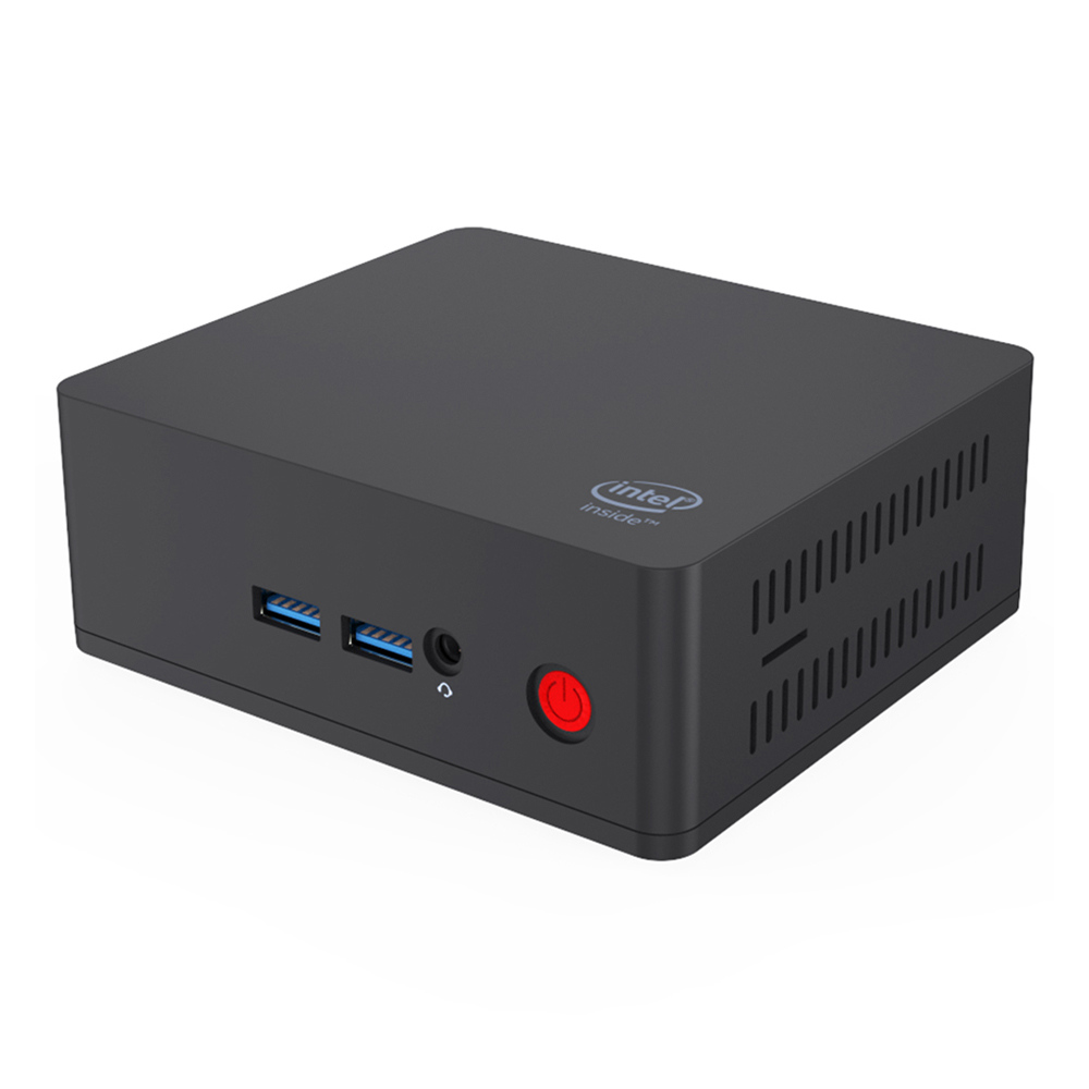 AP35 Intel Apollo Lake J3355 4GB DDR4 64GB SSD Windows 10 Mini PC Dual Band WiFi Bluetooth Gigabit LAN HDMI x 2
