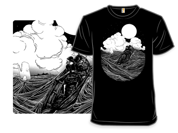 Following The Great White Whale T Shirt