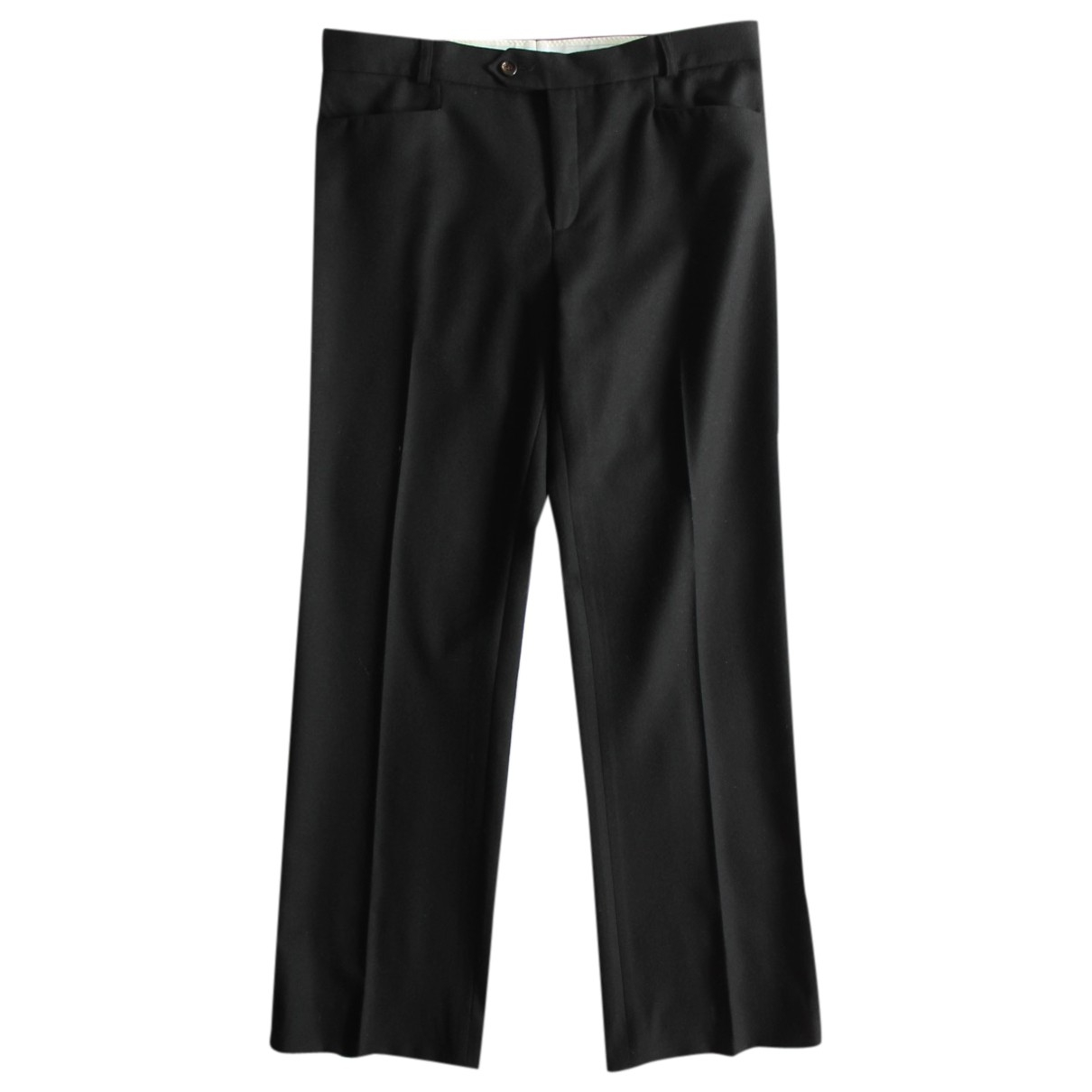 Joseph \N Black Wool Trousers for Women 38 FR