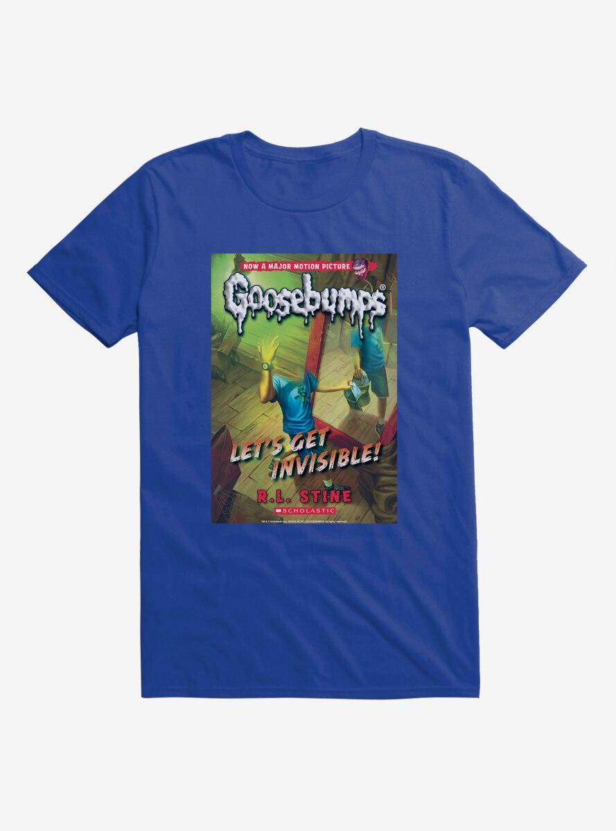 Goosebumps Let's Get Invisible Book T-Shirt