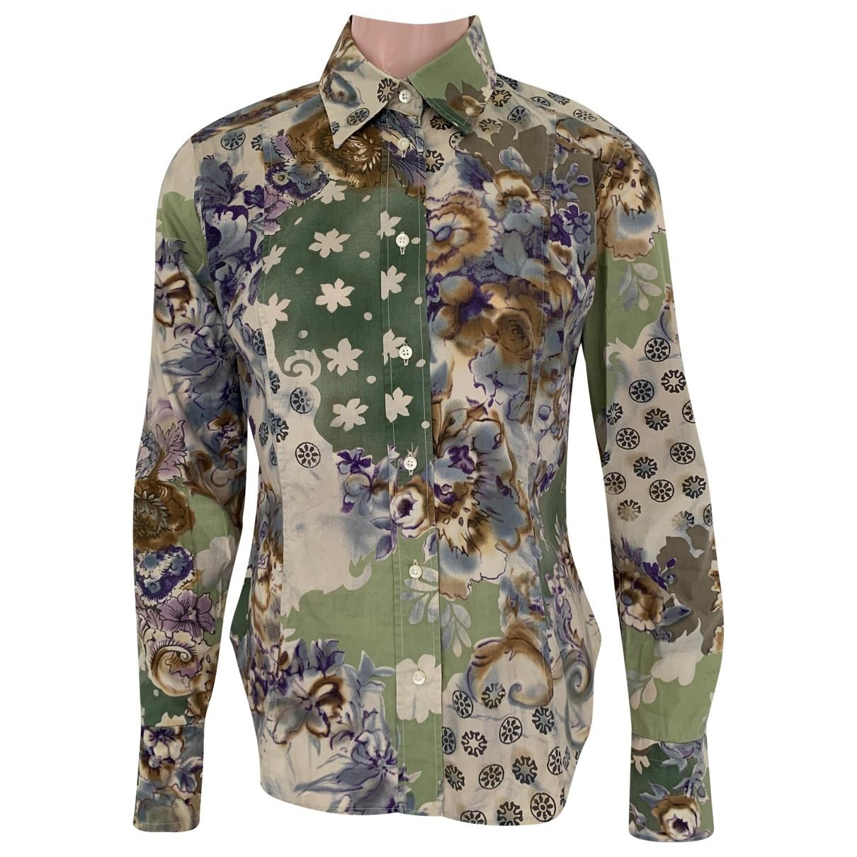 Etro \N Multicolour Cotton  top for Women 44 IT