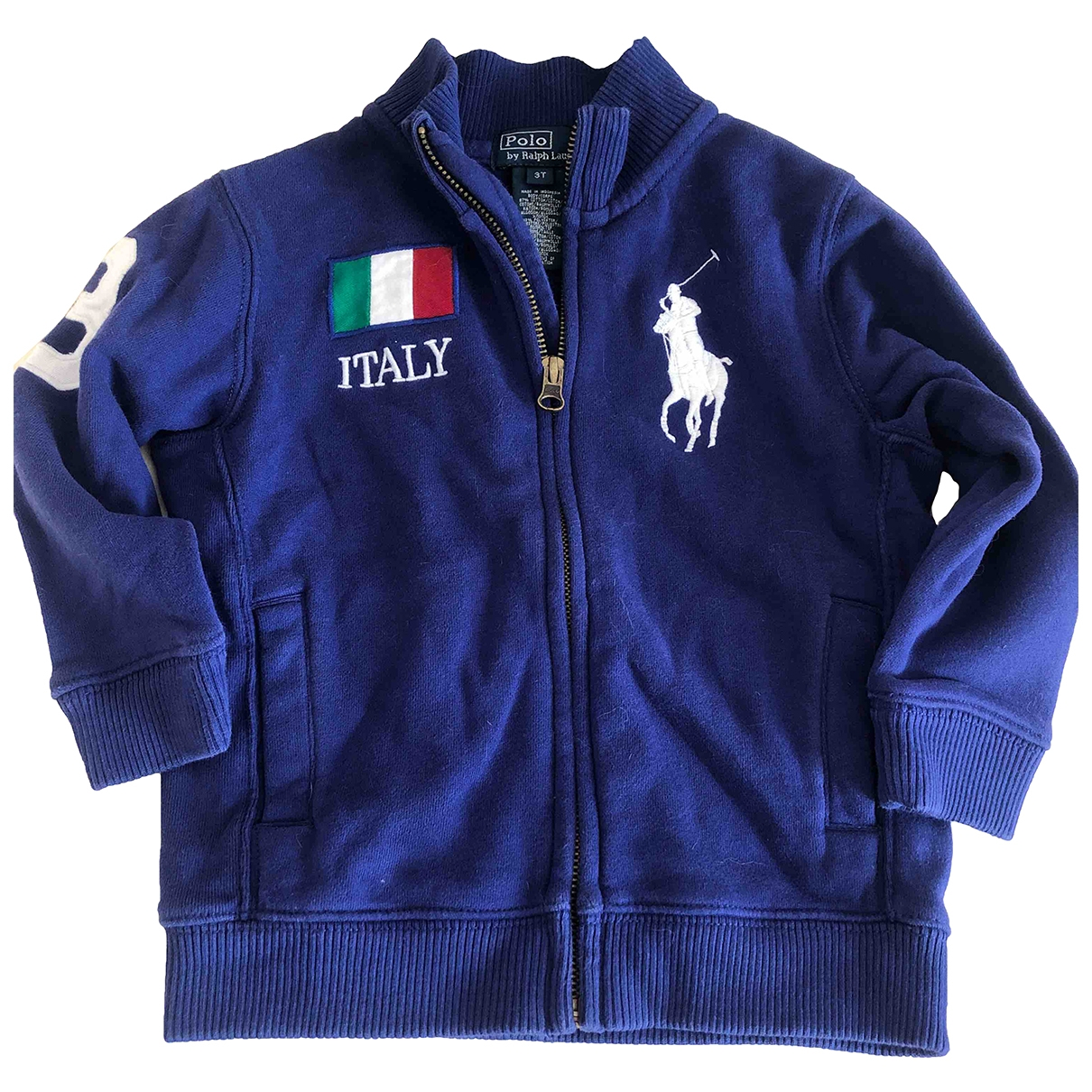 Polo Ralph Lauren \N Blue Cotton Knitwear for Kids 3 years - up to 98cm FR