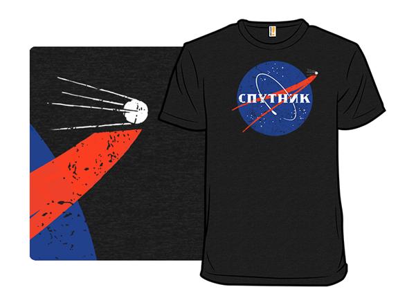 Vintage Sputnik T Shirt