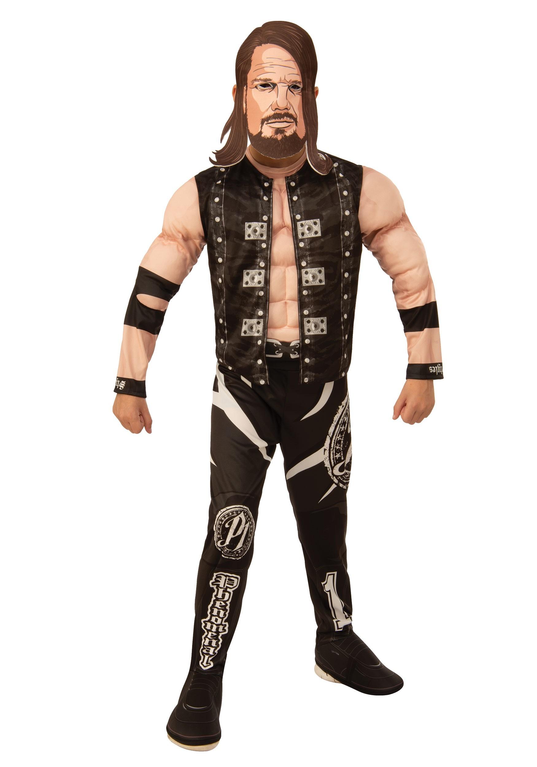 WWE AJ Styles Deluxe Kids Costume