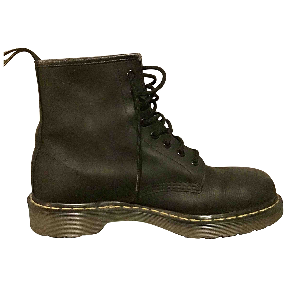 Dr. Martens 1460 Pascal (8 eye) Black Leather Ankle boots for Women 42 EU