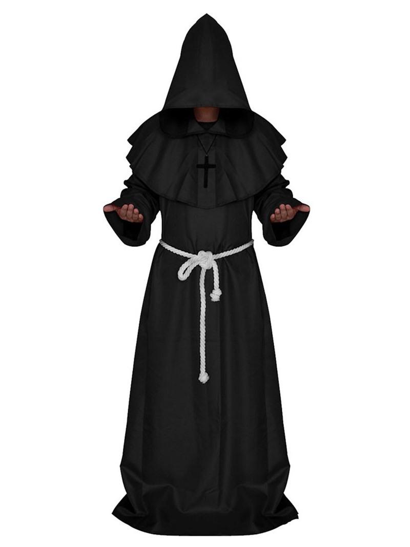Ericdress Plain Falbala Classic Halloween Long Sleeve Costumes