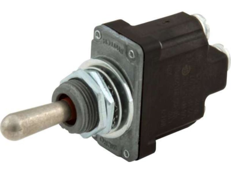 Quickcar Racing Products Momentary on-off-on Weatherproof Toggle Switch 50-401