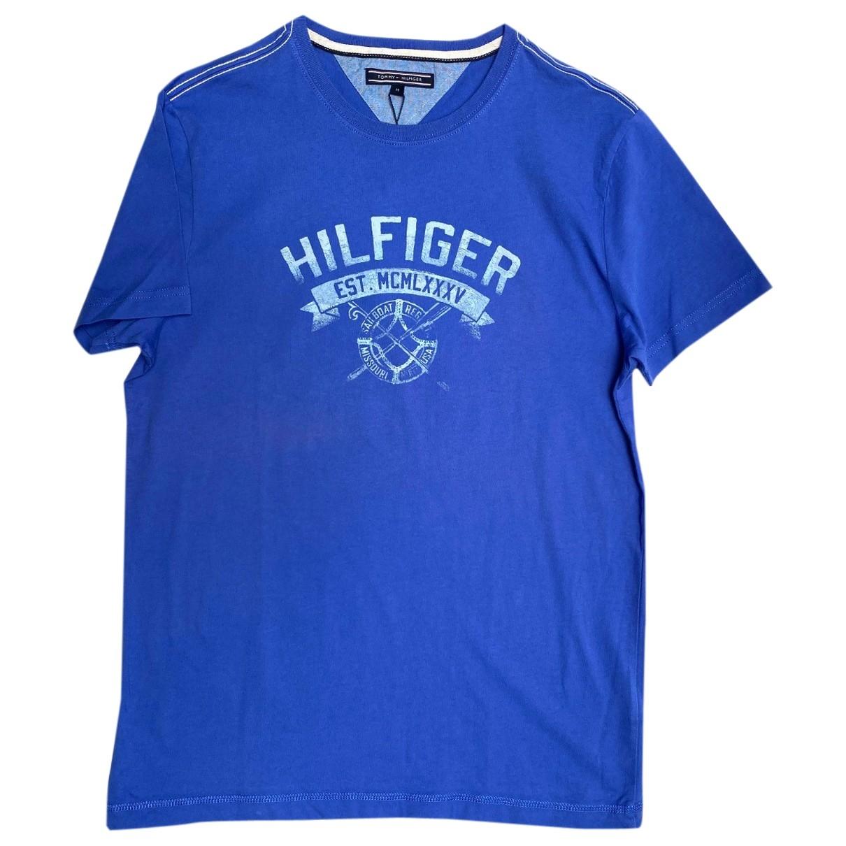 Tommy Hilfiger \N Blue Cotton T-shirts for Men M International