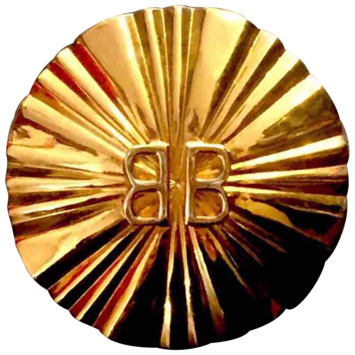 Balenciaga \N Gold Silk handkerchief for Women \N
